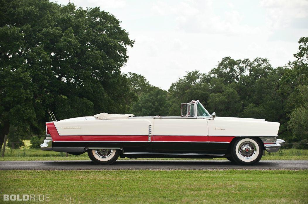1955 Packard Caribbean Convertible rerto classic wallpaper