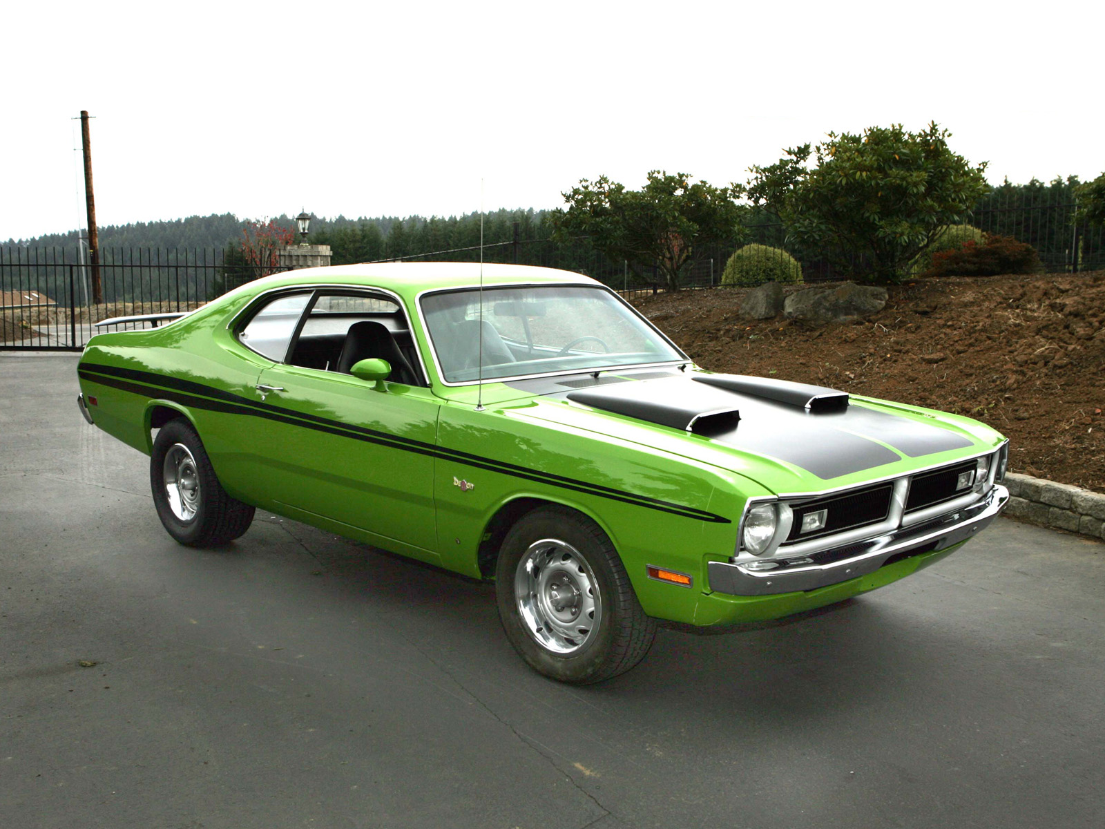 1971 dodge demon muscle cars hot rod wallpaper 1600x1200. Black Bedroom Furniture Sets. Home Design Ideas
