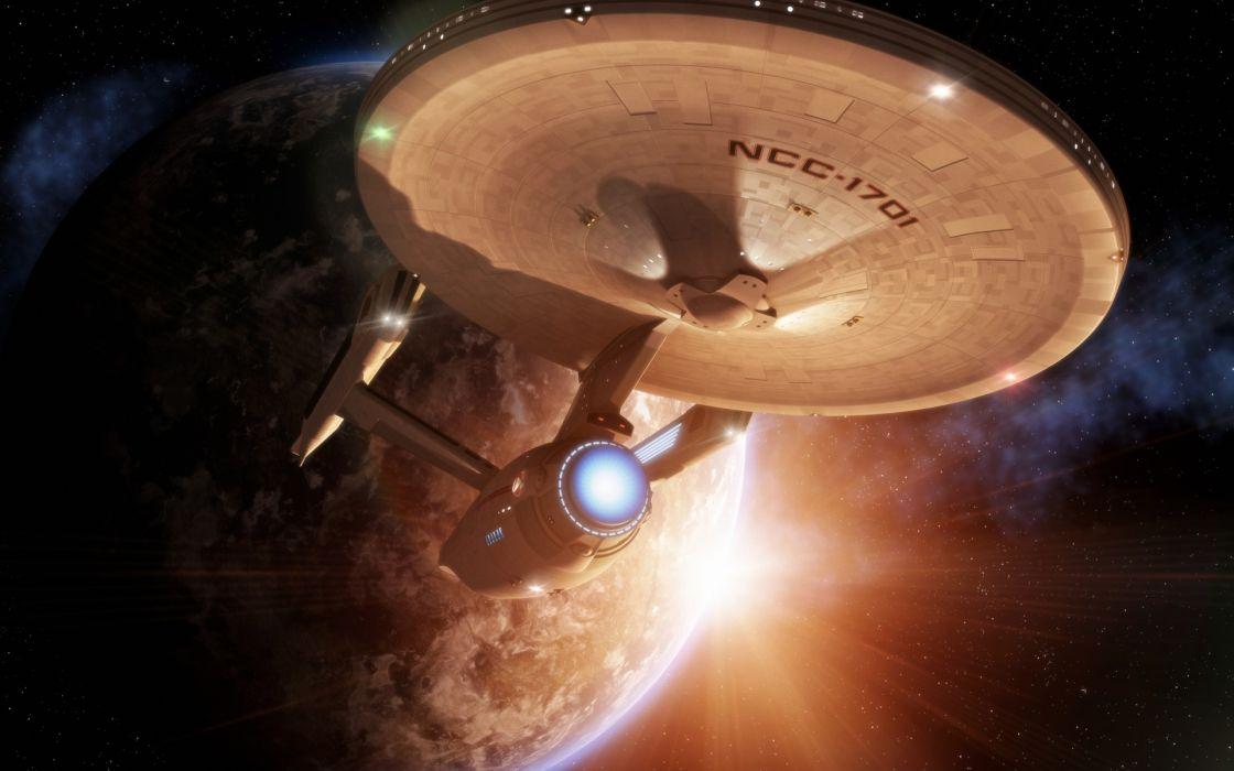 star trek movies enterprise sci fi science futuristic spaceship spacecraft planets space wallpaper