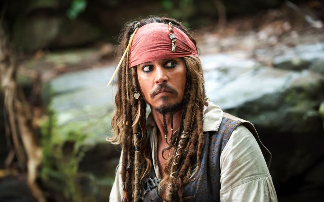 pirates of the caribbean johnny depp Jack Sparrow wallpaper