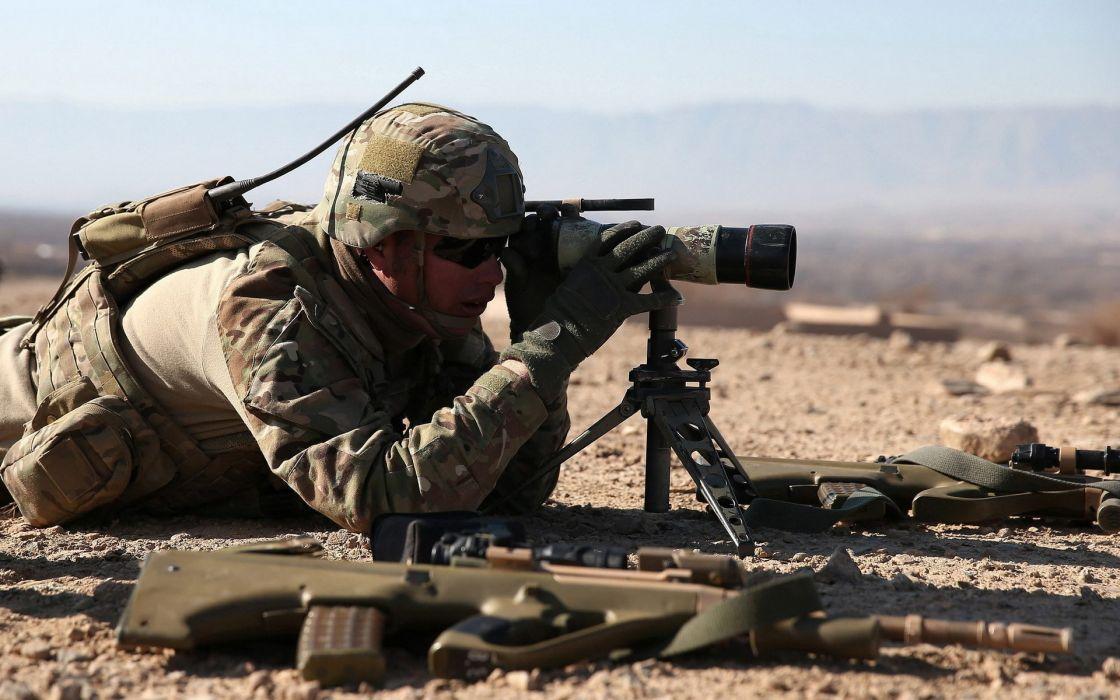military warriors soldiers weapons guns assault rifles machine camo uniform wallpaper