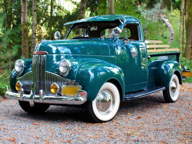 studebaker pickup trucks classic retro wallpaper