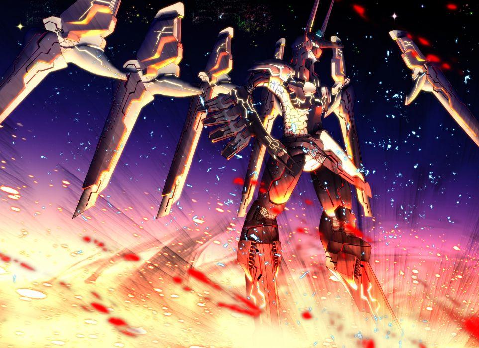 Zone of the Enders mecha robot art wallpaper