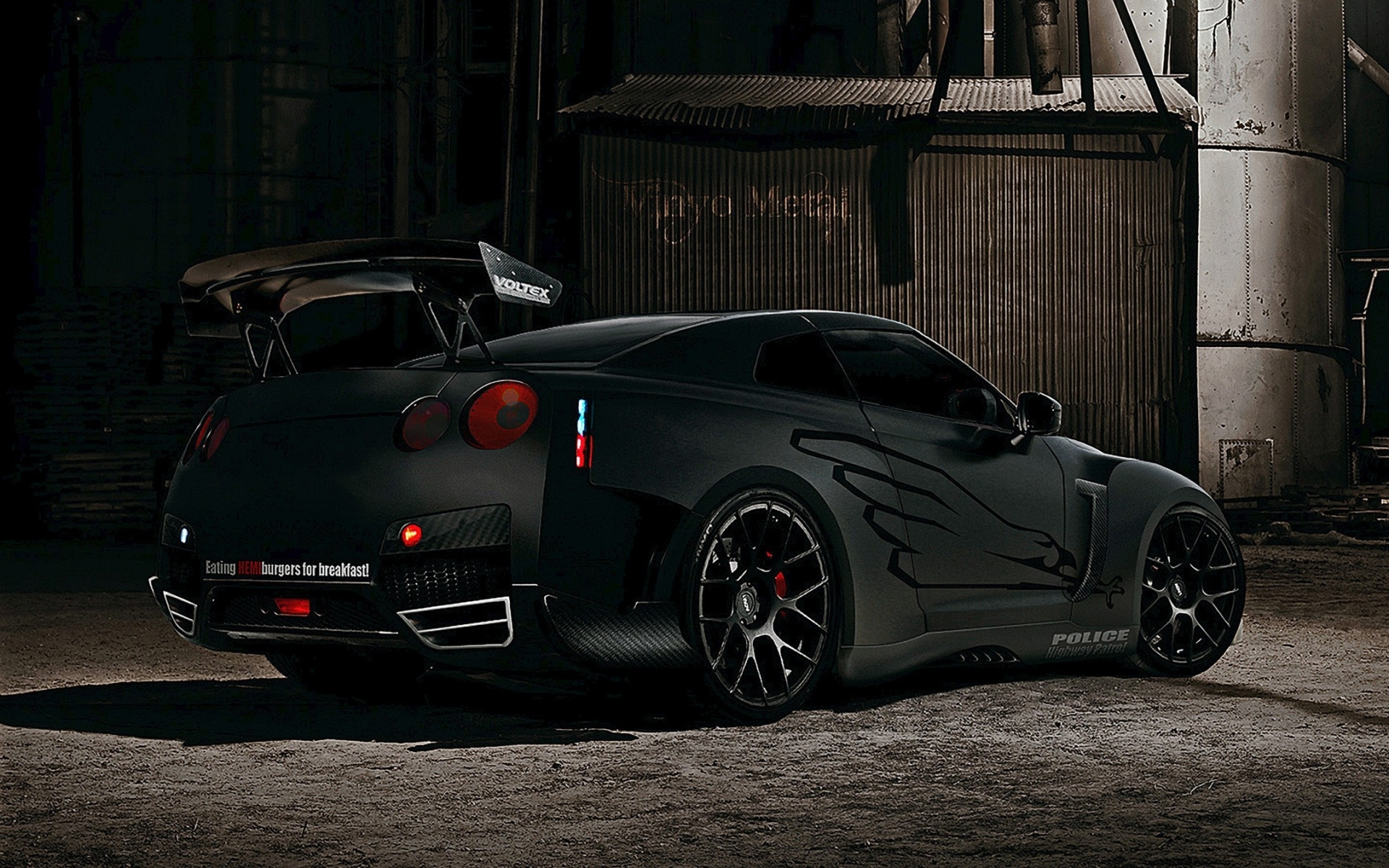 1920x1200 Black Cars Nissan Vehicles Nissan Gtr R35 Tuning Wallpaper