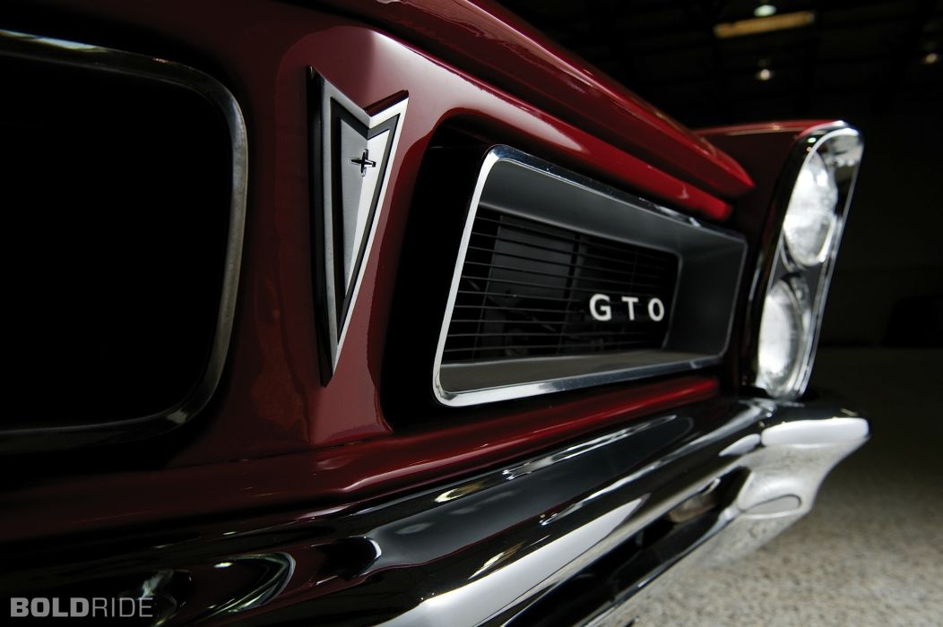 1965 Pontiac Gto muscle cars classic wallpaper