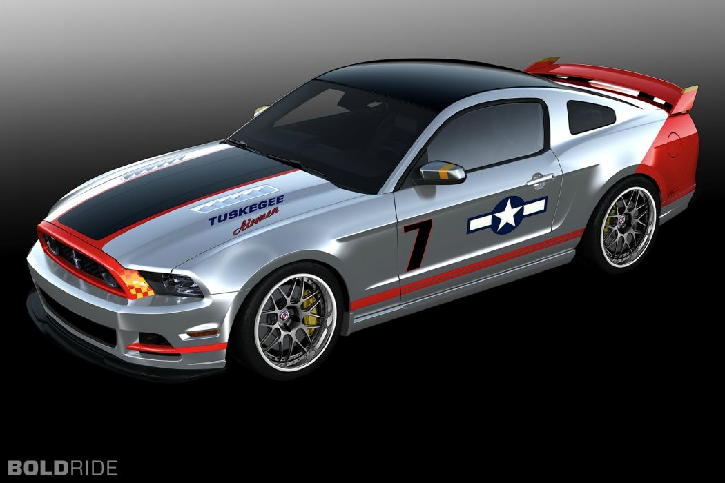 2013 Ford Mustang Red wallpaper