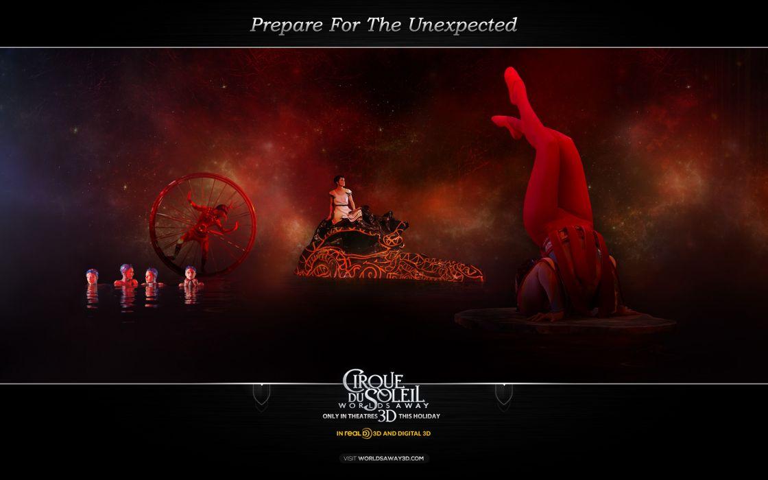 Cirque Du Soleil Worlds Away wallpaper