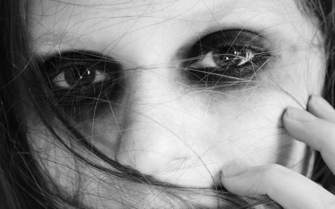 dark gothic vampire face eyes wallpaper