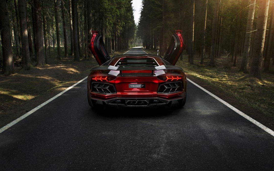 Lamborghini Aventador LP700-4 wallpaper