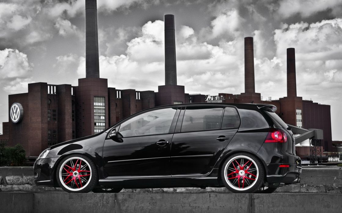 vw golf volkswagen gti tuning wallpaper