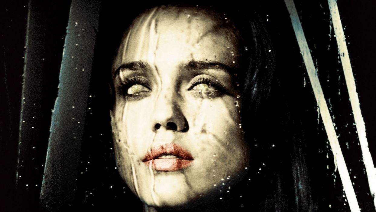 the eye face fear horror blind jessica alba dark wallpaper