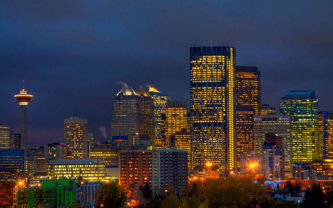 Canada Calgary Alberta wallpaper