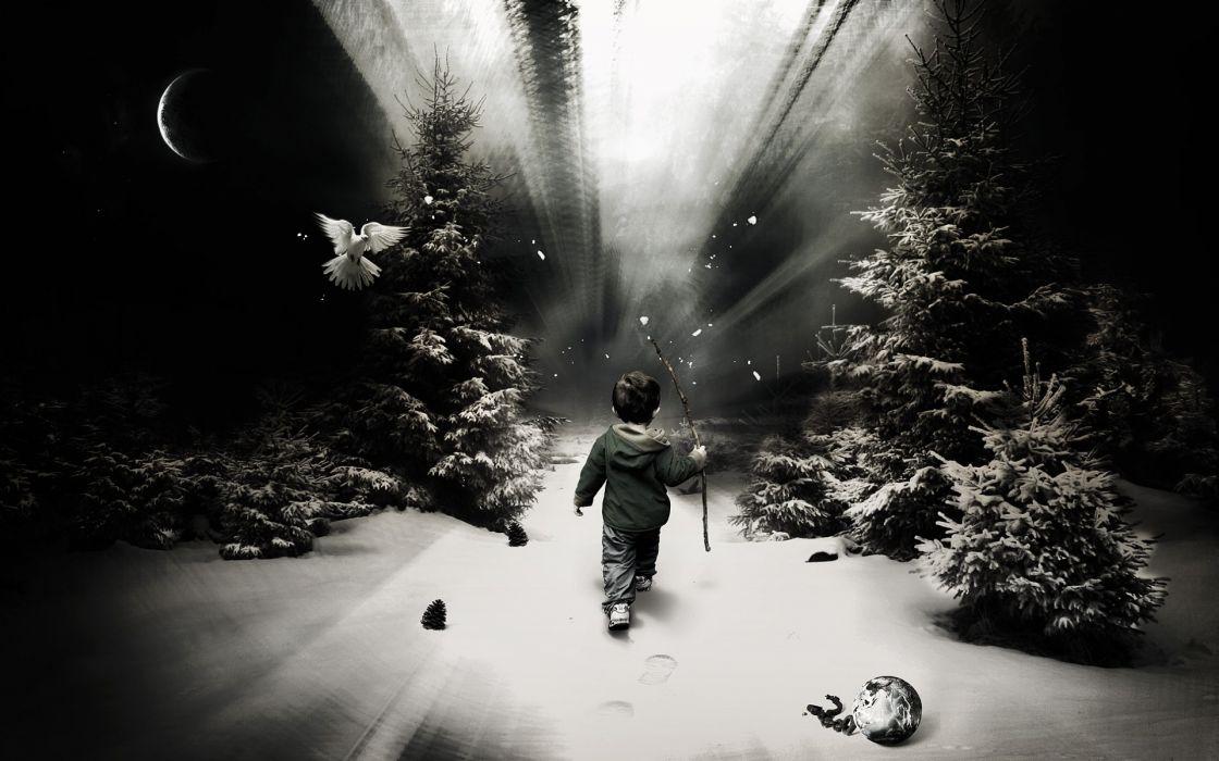 winter child wallpaper