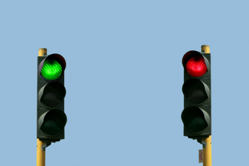 Traffic Light Lamp Wallpaper