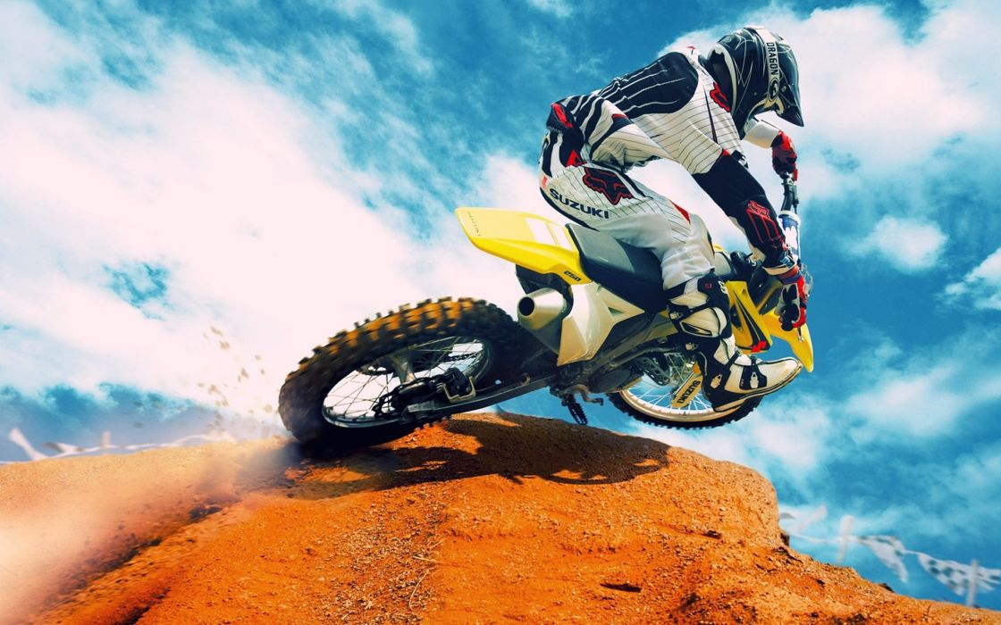 Sports Motocross Dirt Bike Wallpaper 1920x1200 36837