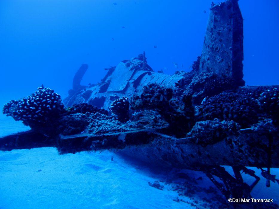 Wreck of the Corsair Oahu wallpaper