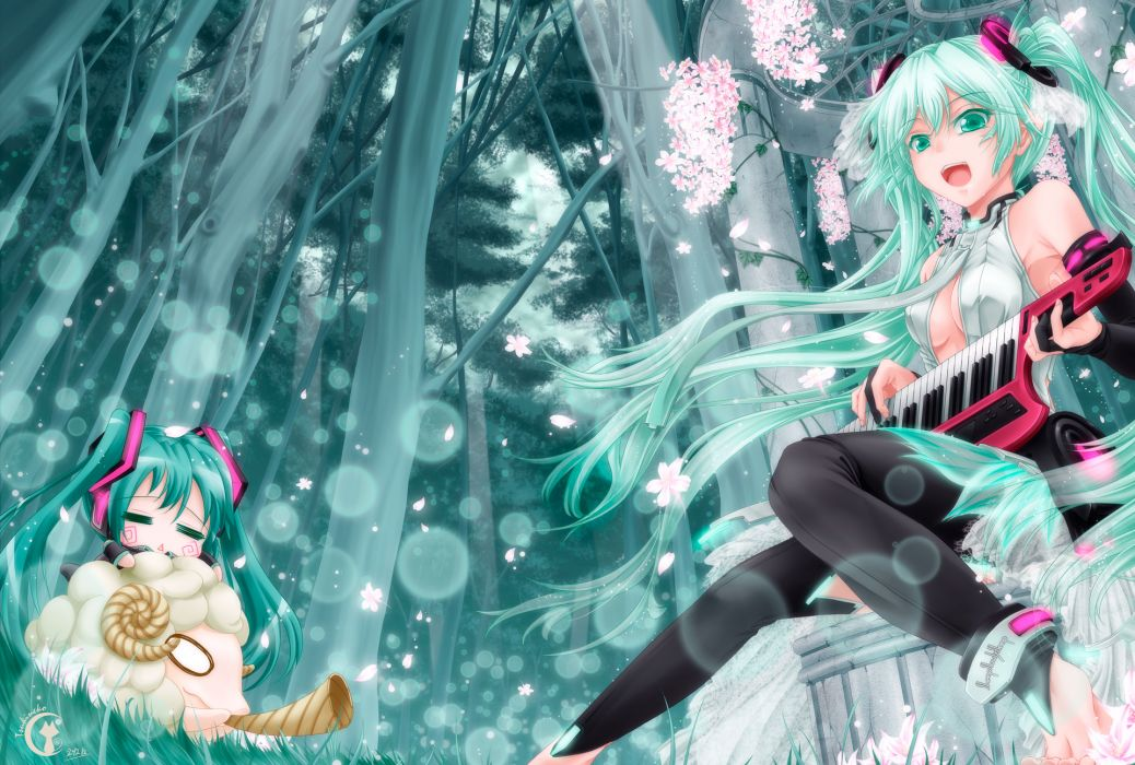 Vocaloid Girls wallpaper