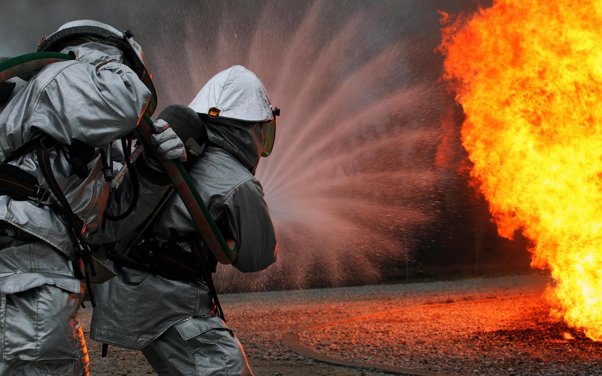 Firefighter Fire Wallpaper