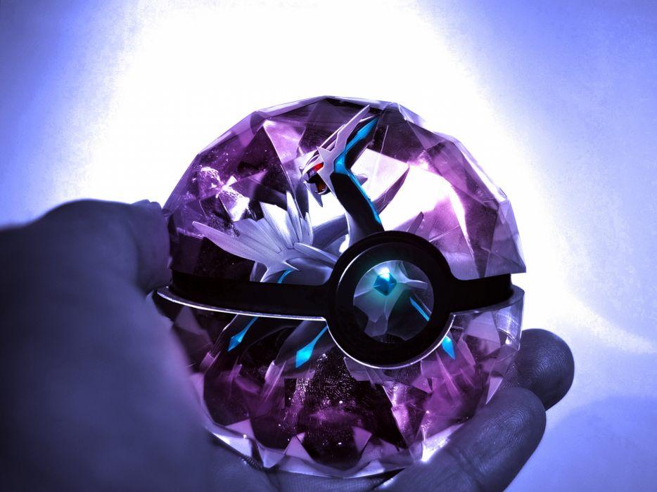 Pokemon Poke Ball Purple wallpaper
