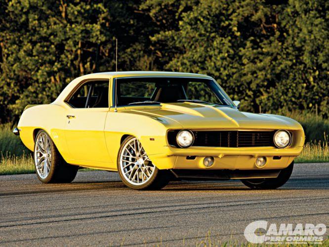 1969 Camaro dfswfr wallpaper