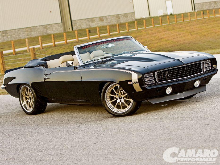 1969 Chevy Camaro Convertible err wallpaper