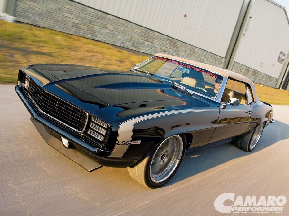 1969 Chevy Camaro Convertible wallpaper