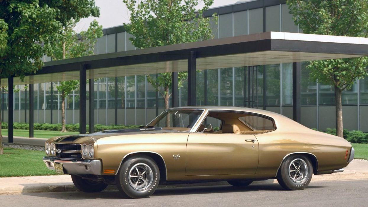 1970 Bronze Chevelle SS wallpaper