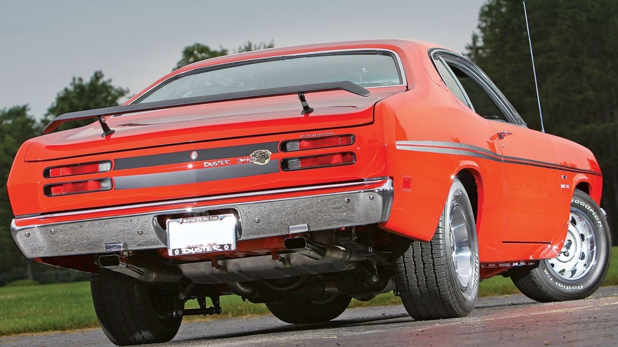 1970 Red PlymouthDuster 340 wallpaper