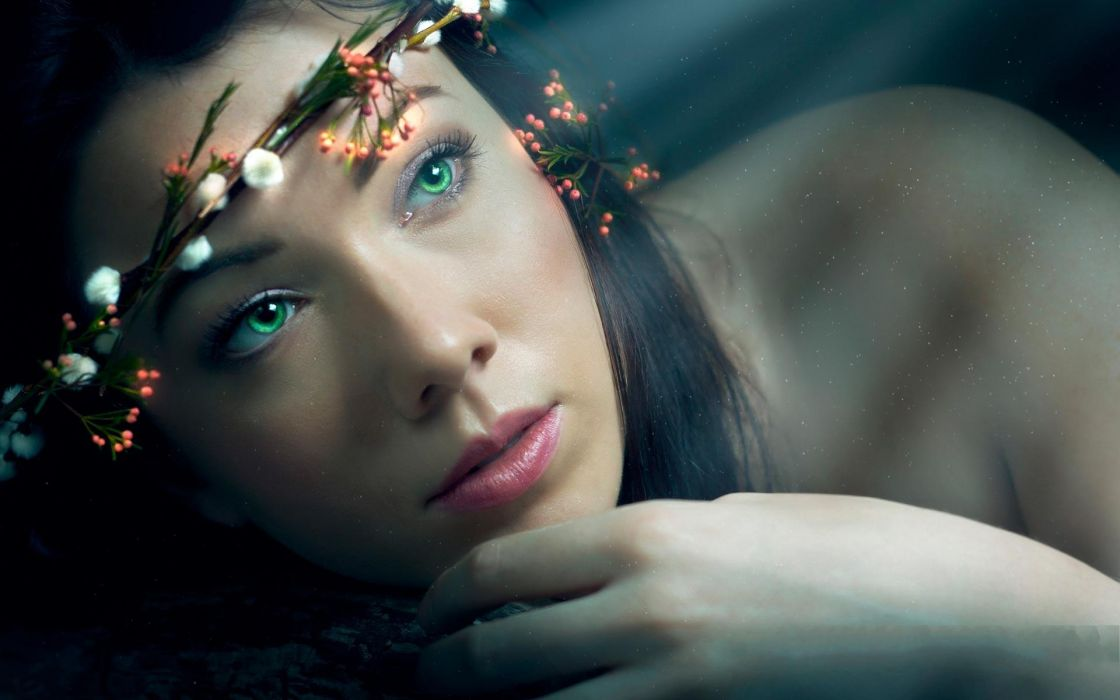 Elven Dream women fantasy wallpaper