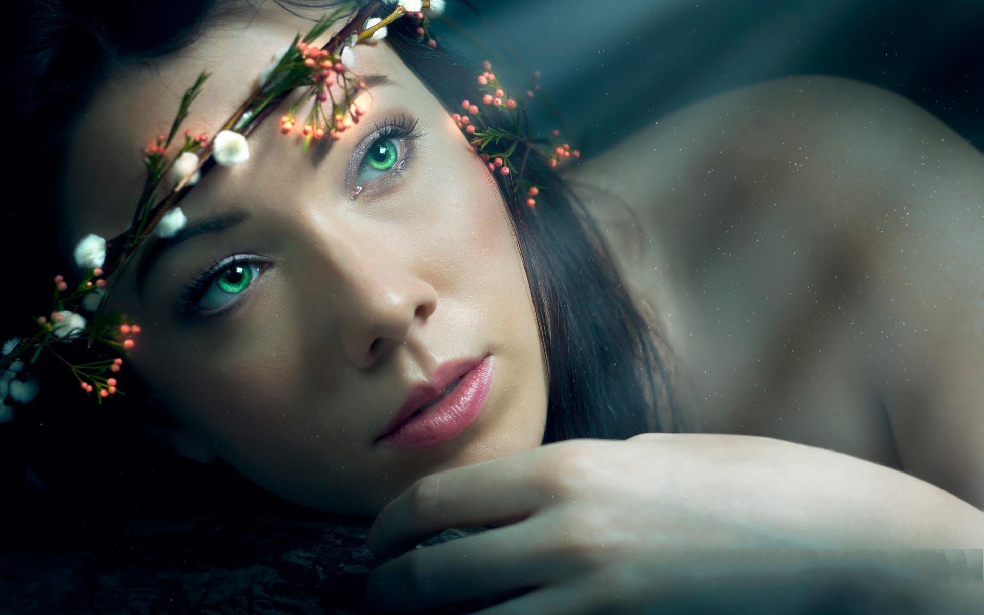 women fantasy eyes blue - photo #37