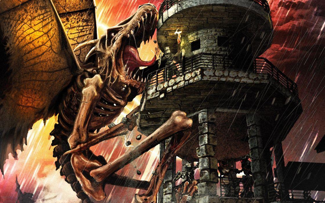 fantasy dragon wallpaper