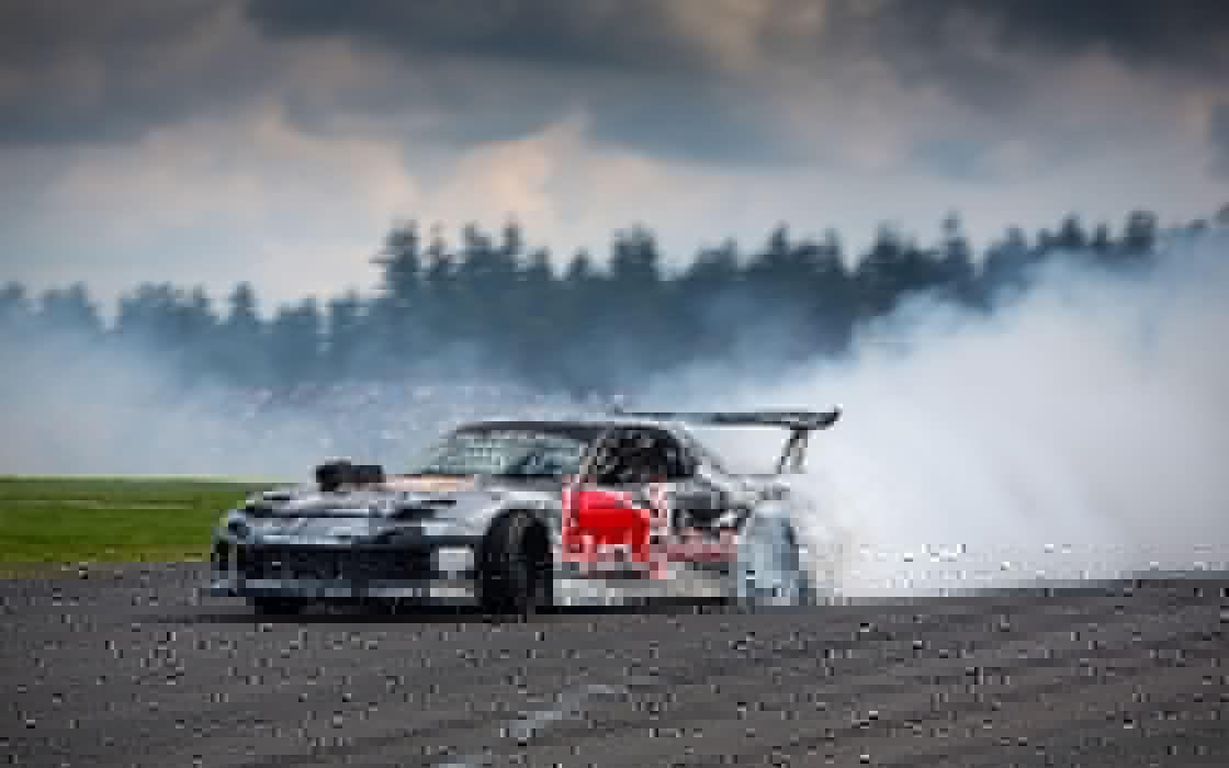 Mazda Rx7 drift wallpaper