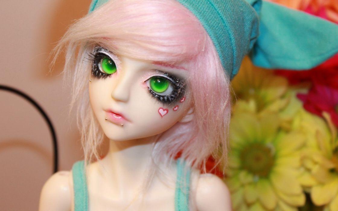 toys doll girl women eyes wallpaper