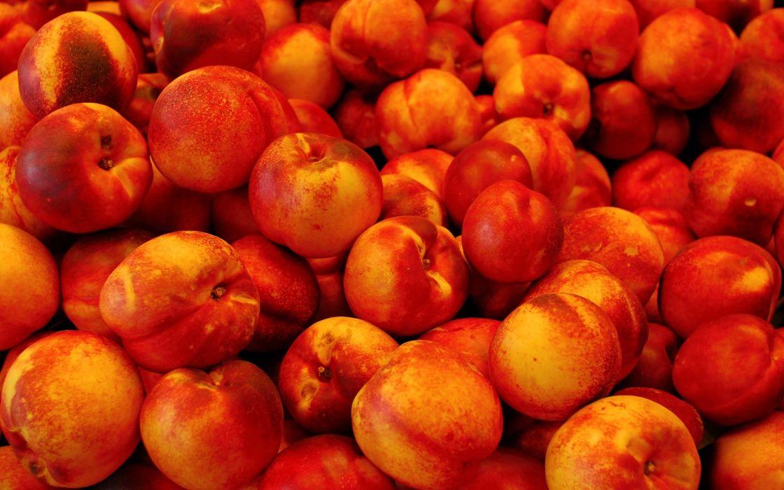 1 fruits peaches food color wallpaper