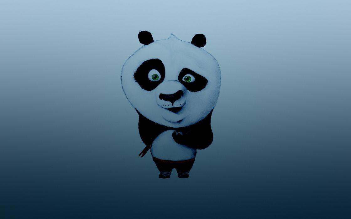 1 Kung Fu Panda animals cartoon animation humor eyes pov wallpaper