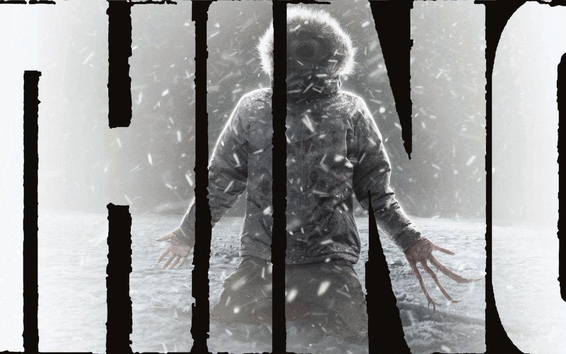 The Thing dark horror wallpaper