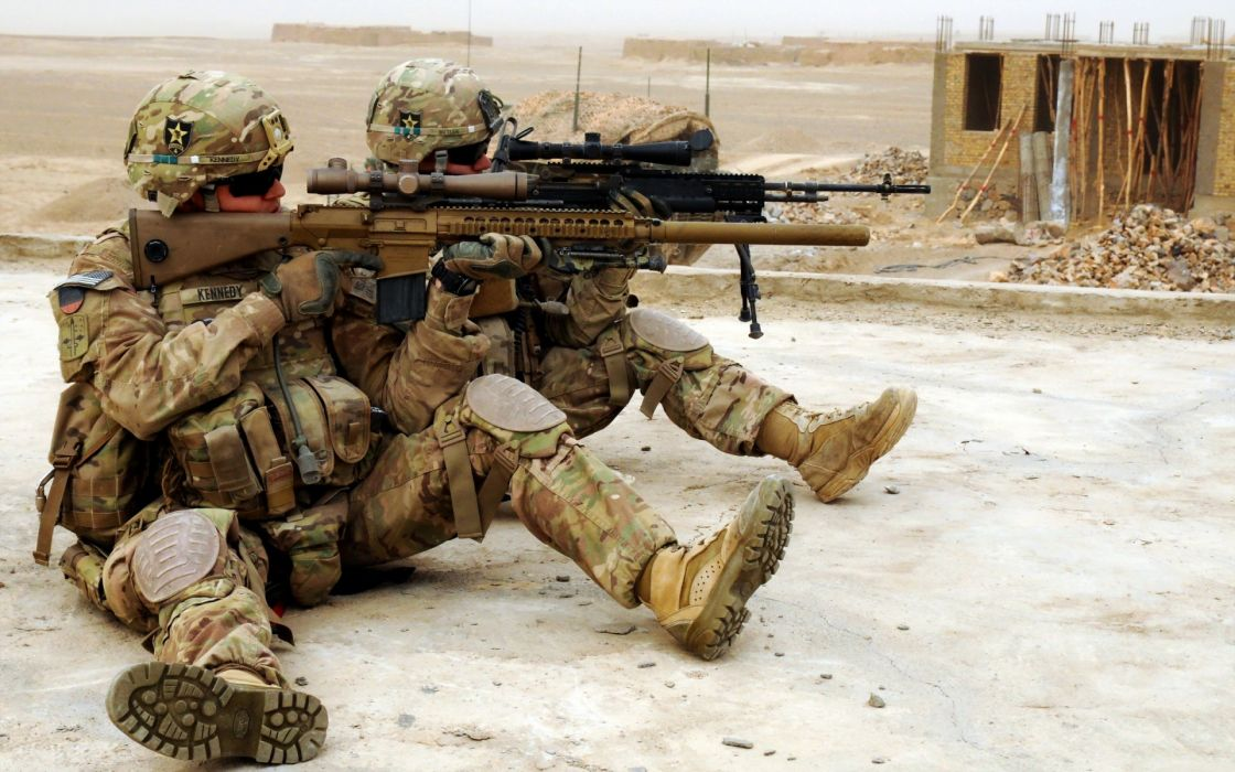 military warriors soldiers weapons guns wallpaper