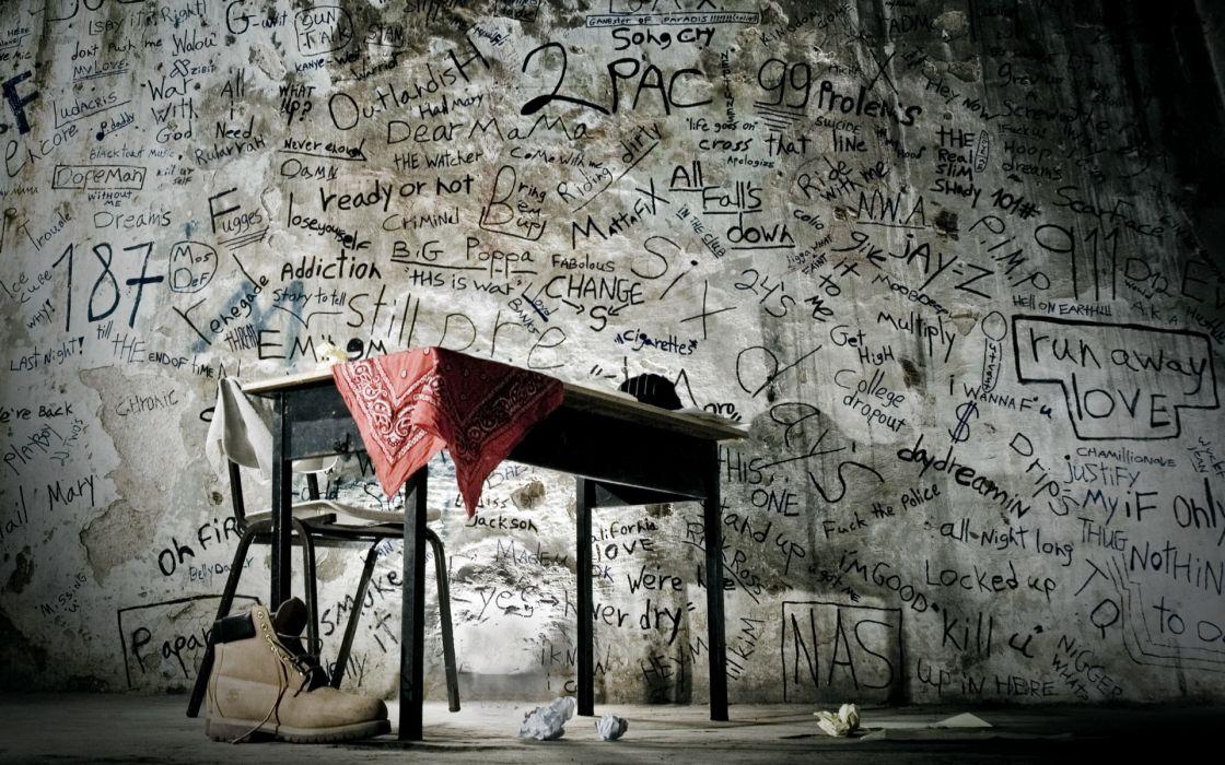 mood dark graffiti situation wallpaper