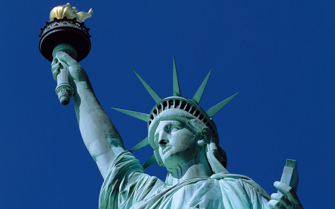 Statue of Liberty monument america usa wallpaper