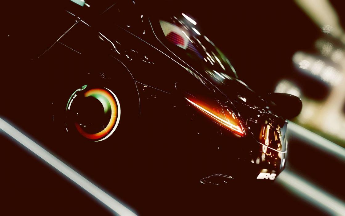 Mercedes Benz SLS AMG Black Series tuning wallpaper