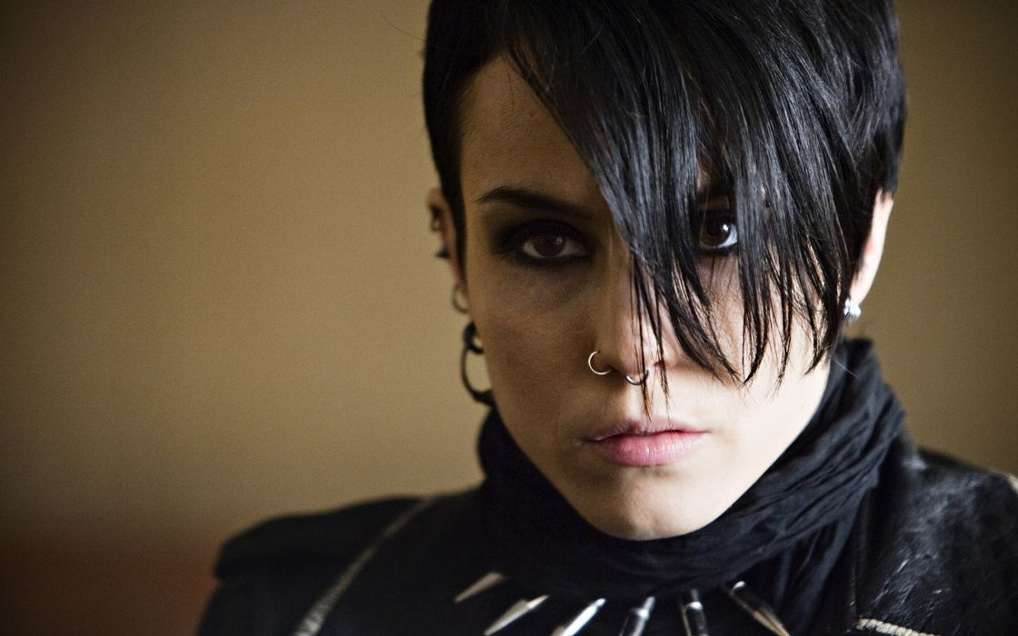 The Girl with the Dragon Tattoo dark gothic women actress wallpaper