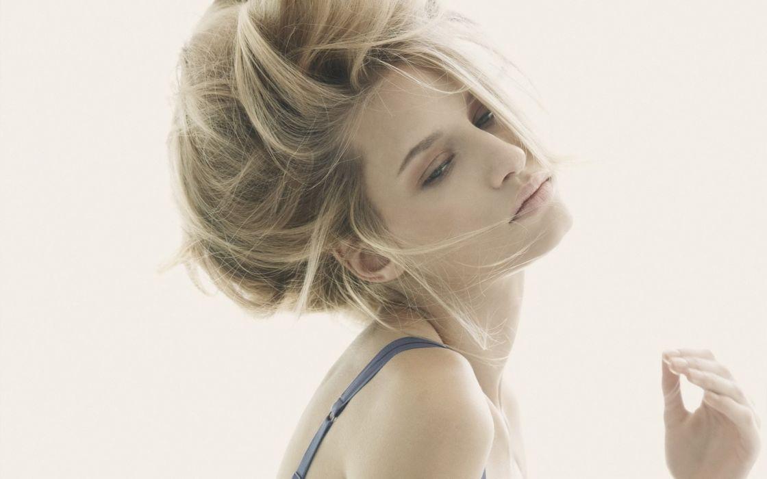 women models blondes face sexy babes wallpaper
