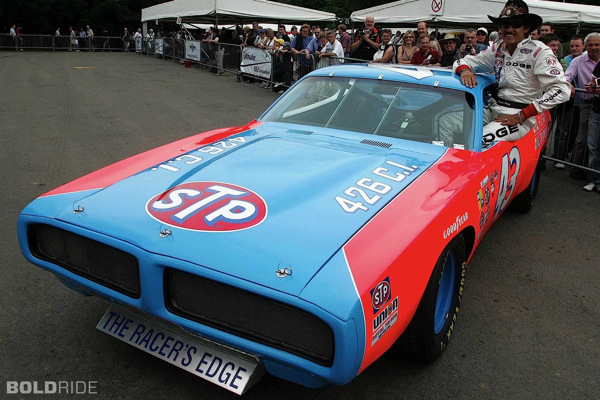 1972 Dodge Charger Nascar Race Car Racing Richard Petty