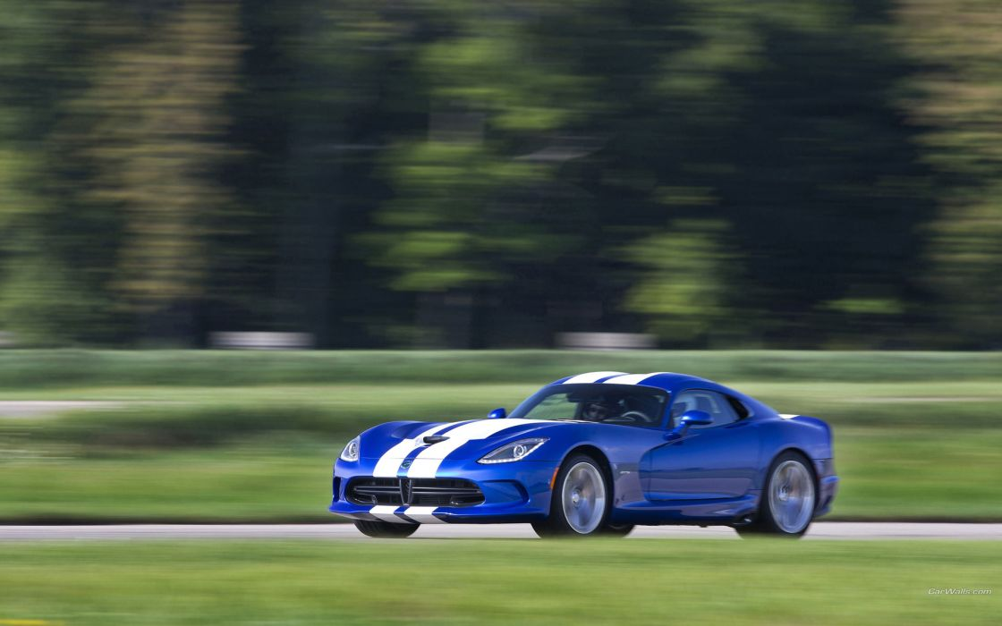 Dodge SRT Viper GTS Launch Edition 2013 supercars racing race track wallpaper
