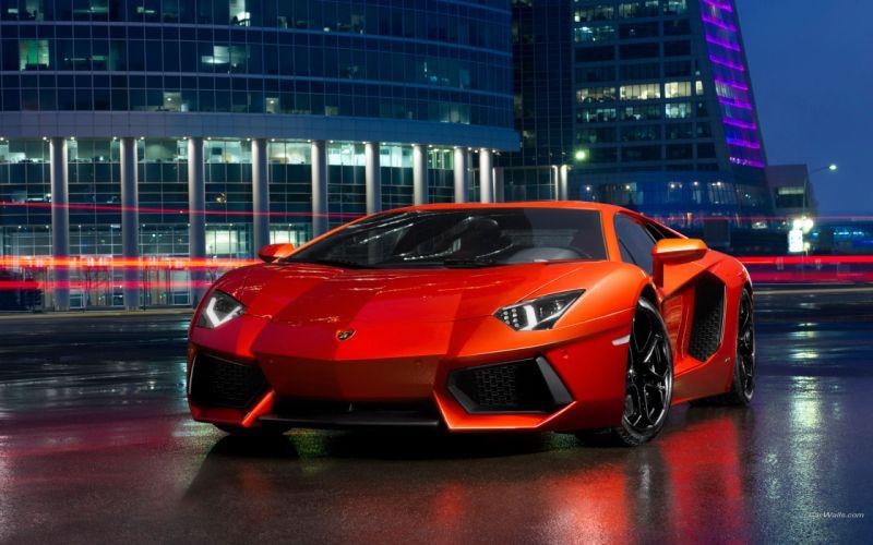 2012 Lamborghini Aventador LP700-4 supercars wallpaper