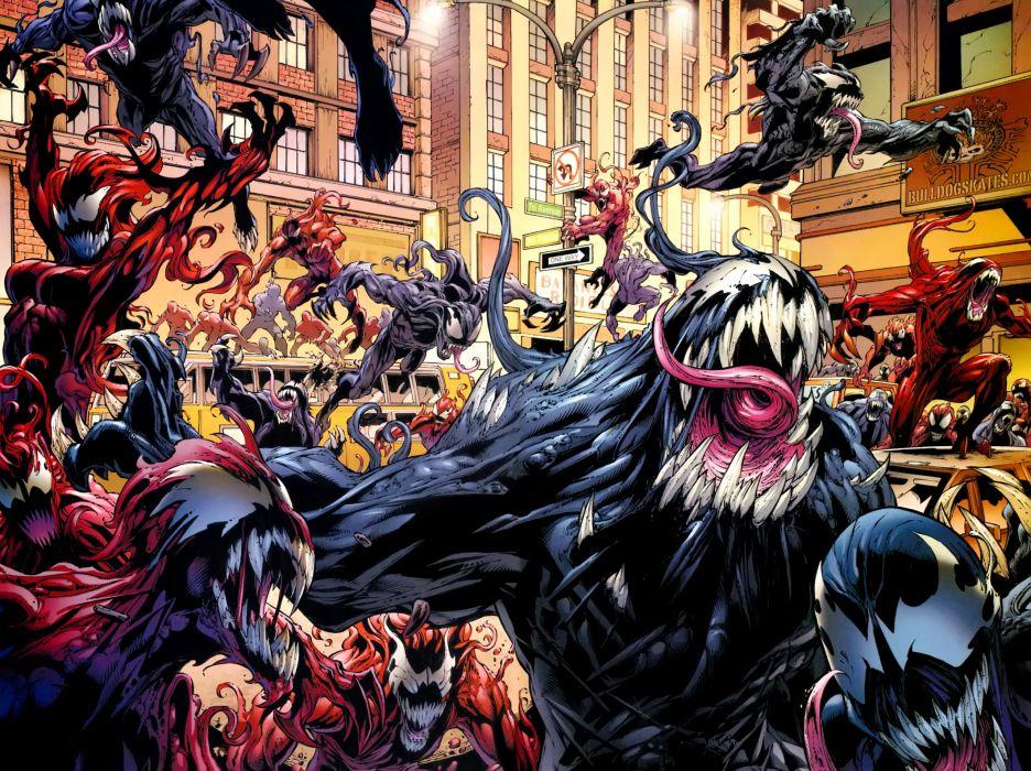 comic venom wallpaper