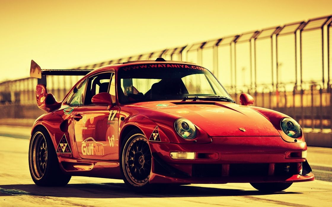 porsche racing race car track wallpaper
