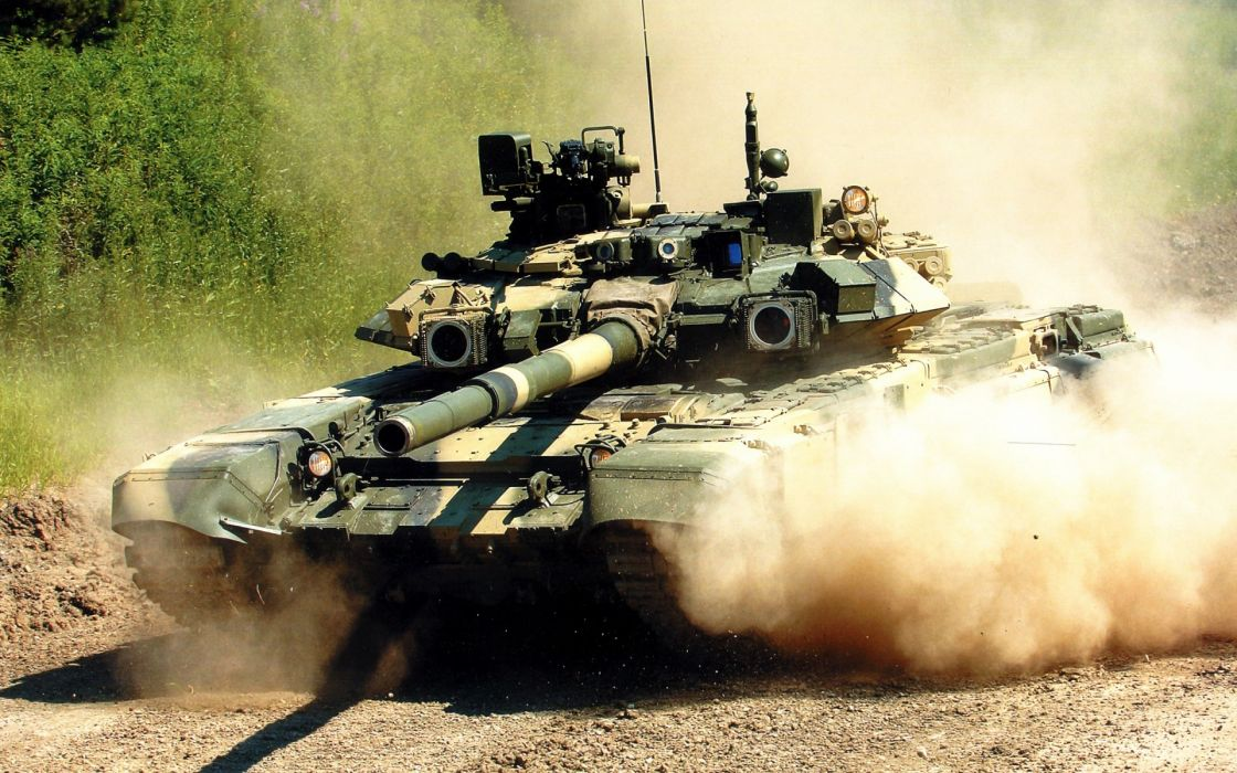 military weapons tanks dust roads wallpaper