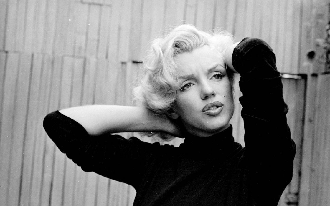 women american actress models fashion marilyn monroe monochrome greyscale wallpaper