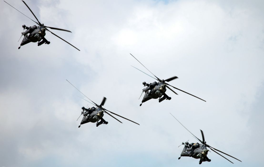 military weapons helicopters russia fly sky wallpaper